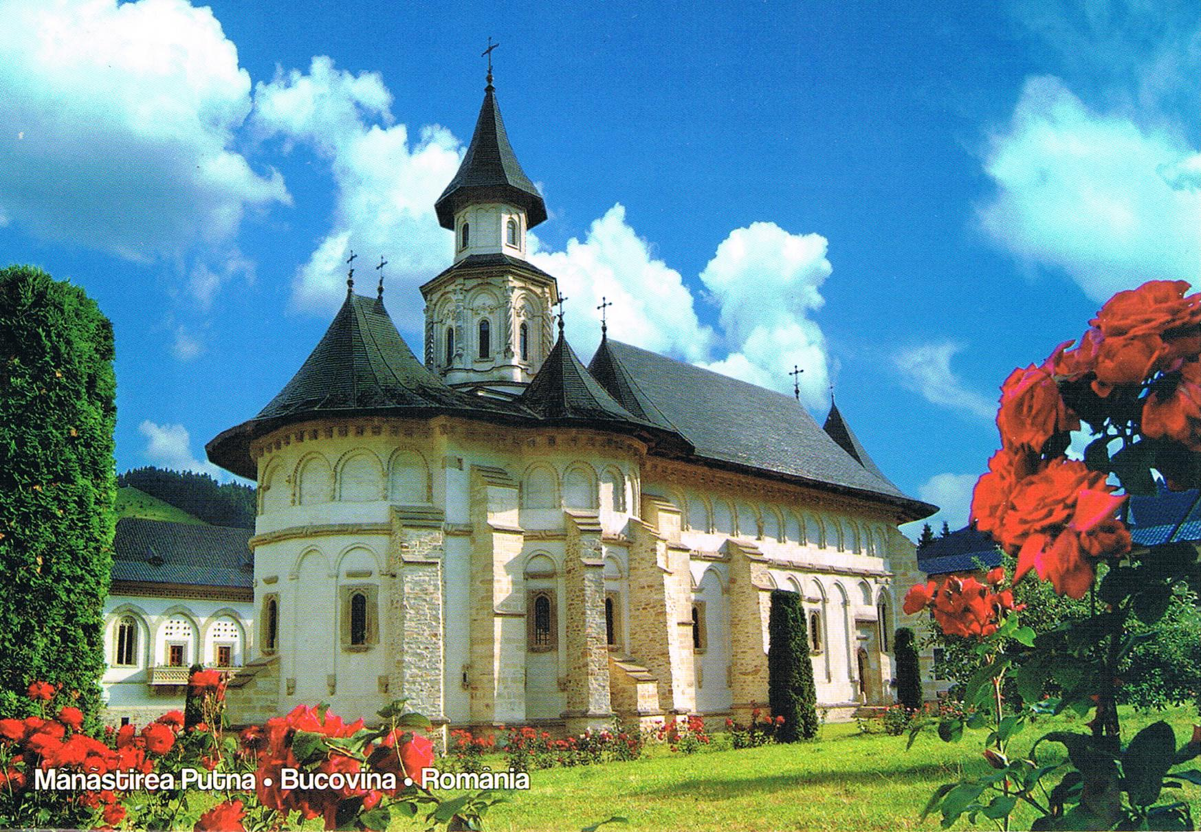 Klosterkirche Putna in Bukowina
