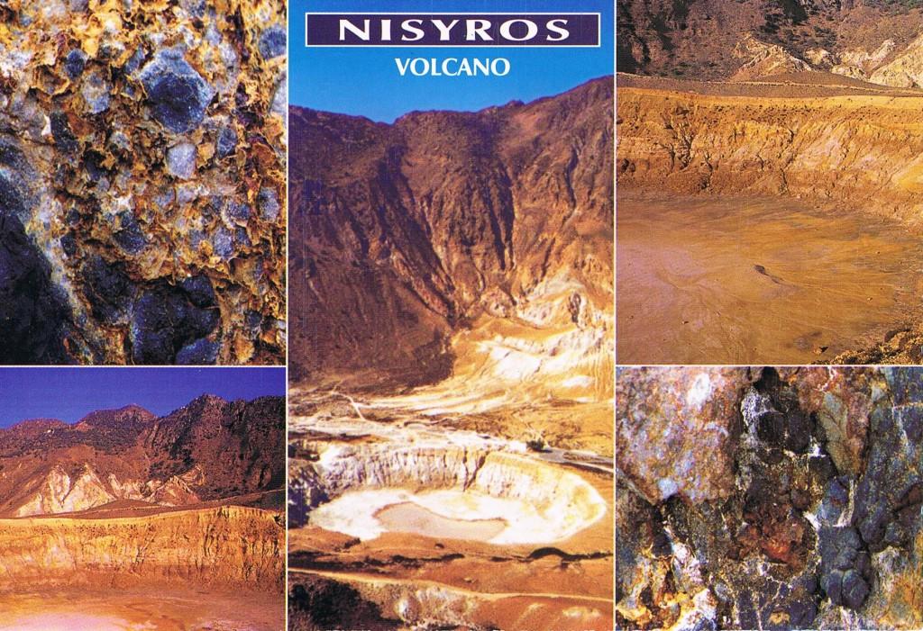 Vulkane auf Nisyros