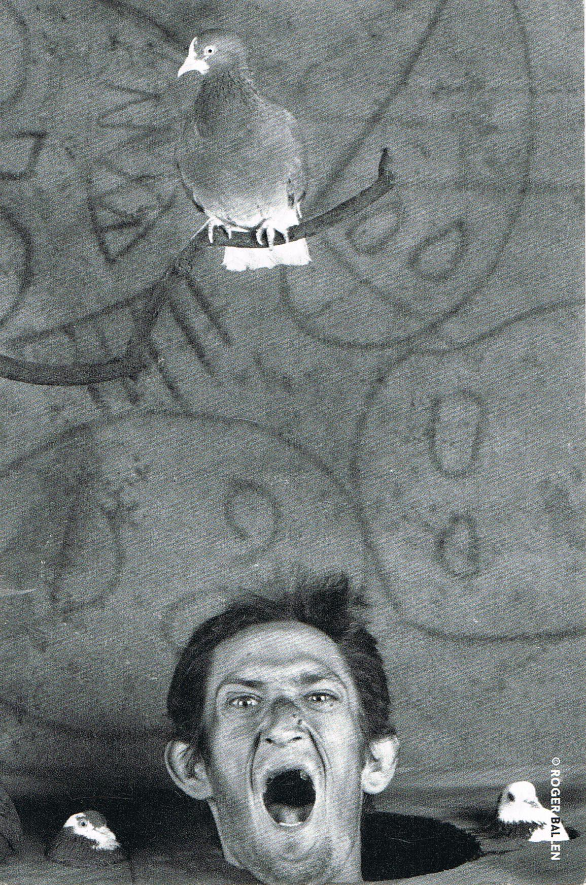 Scream 2012 von Roger Ballen