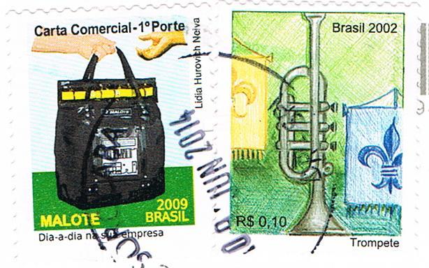 Briefmarken aus Brasilien