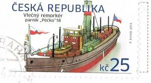 Briefmarke aus Tschechien