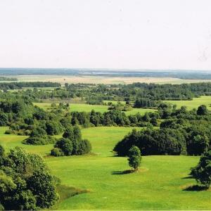 Blick vom Šatrija Hill