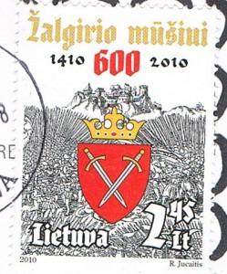 Briefmarke aus Litauen