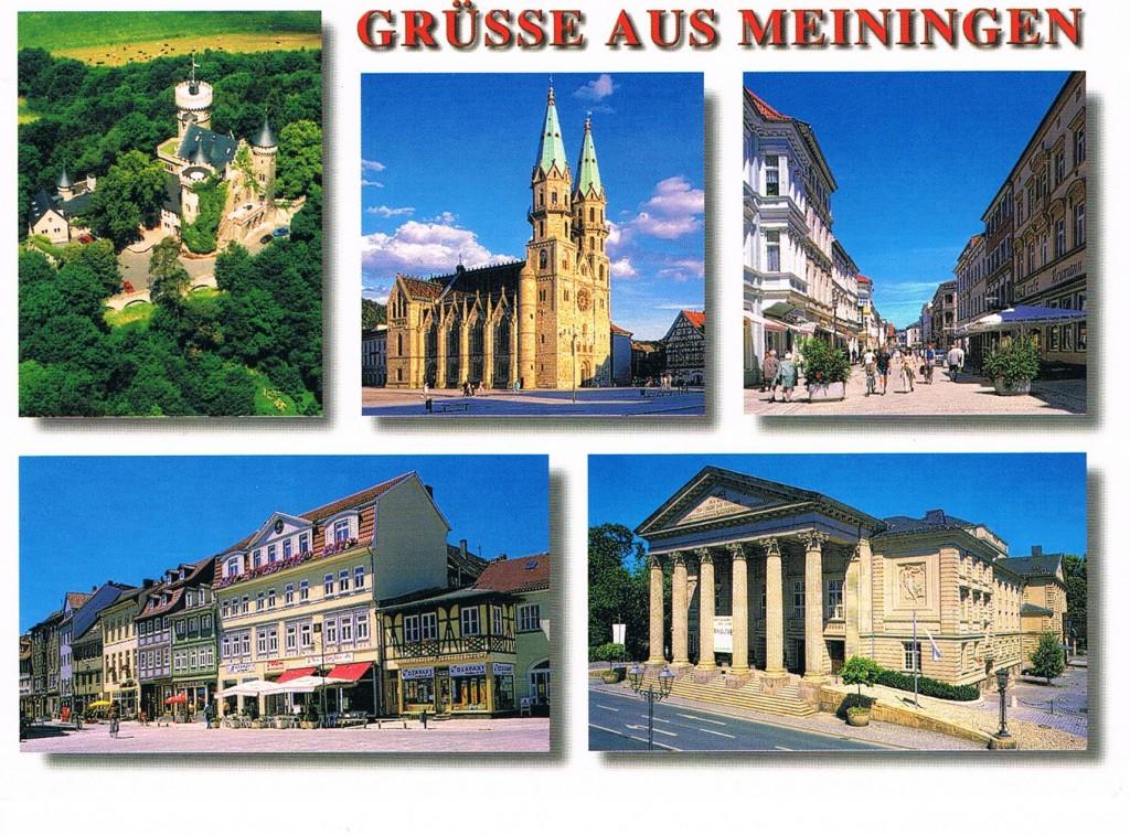 Grüße aus Meiningen