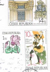 Briefmarken auch Tschechien