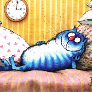 """Blue Cat in """"Time Lord"""""""