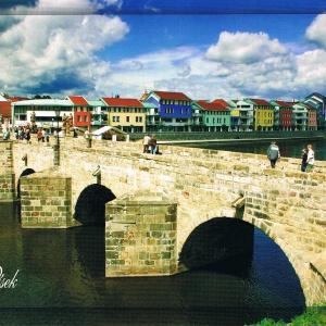 Steinerne Brücke in Pisek