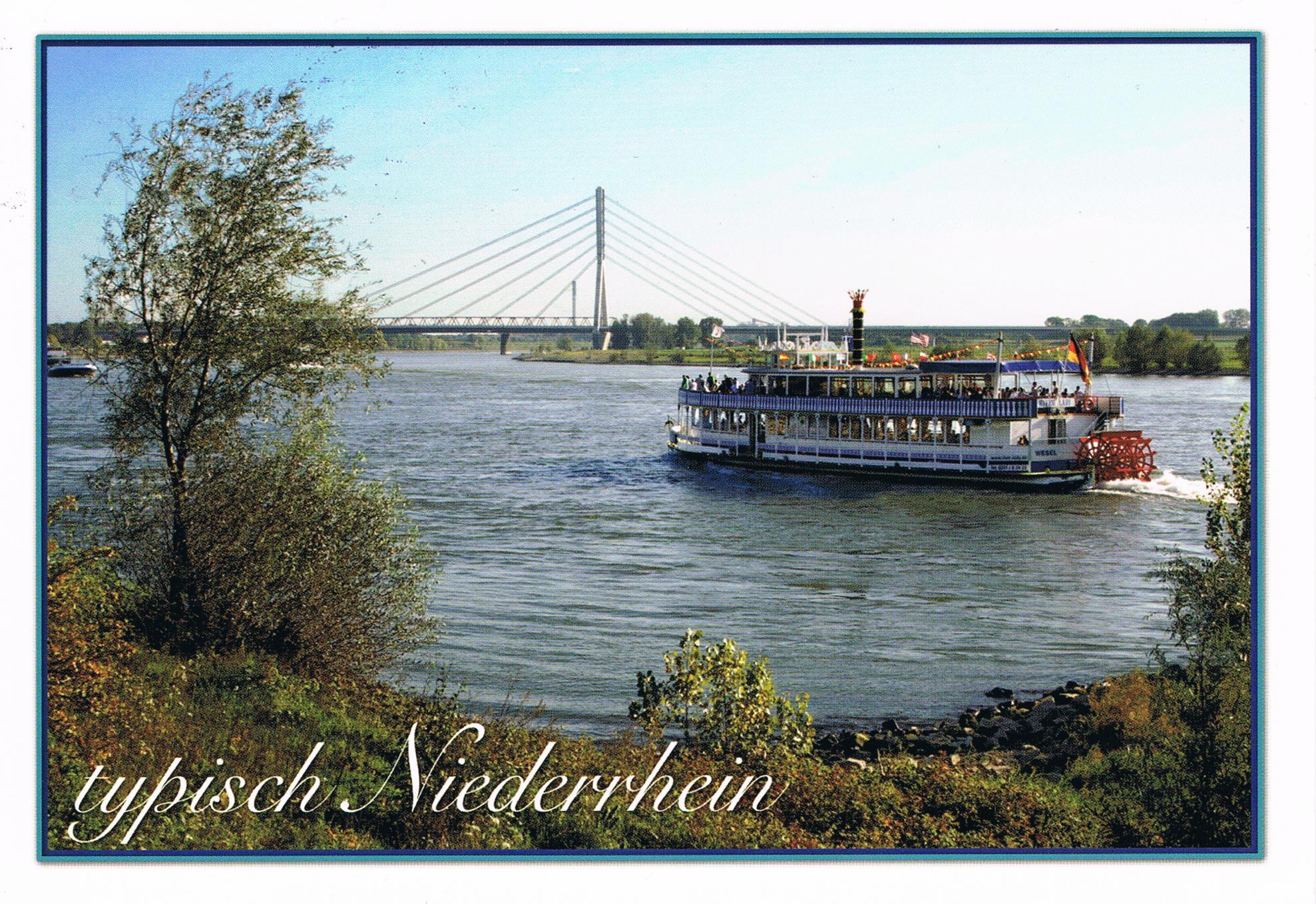 Niederrheinbrücke bei Wesel