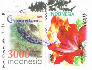 Briefmarken aus Indonesien