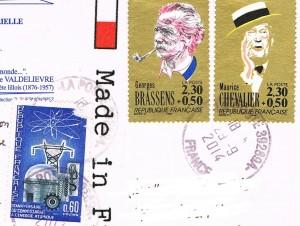 Briefmarken aus Frankreich