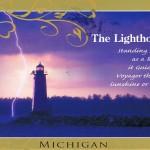 Leuchtturm aus Michigan, USA