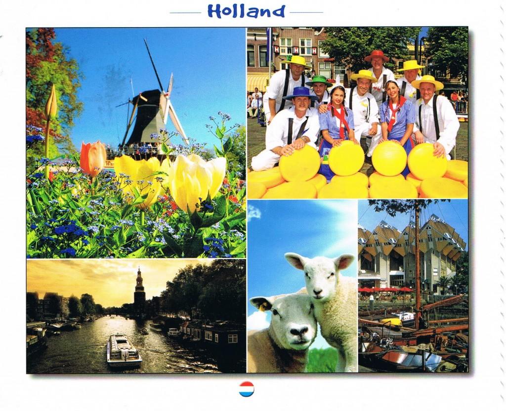 Typische Motive aus den Niederrlanden