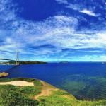 Die Russki-Brücke über den Östlichen Bosporus