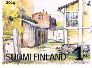Ländliche Ansicht aus Finnland