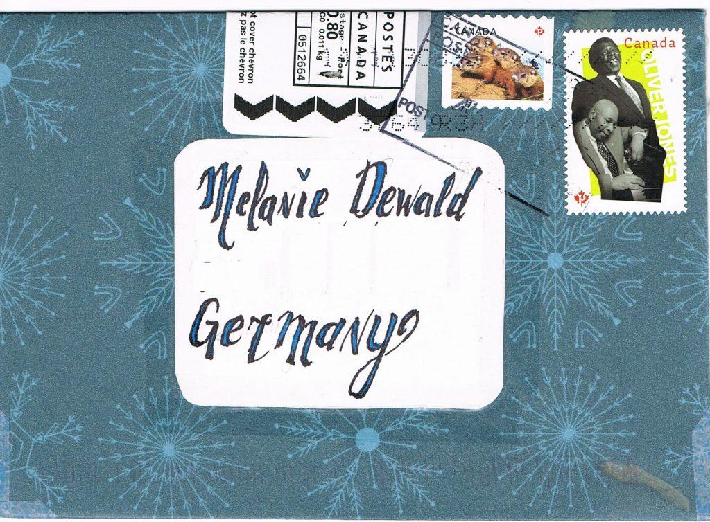 Selbst gemachter Umschlag aus Kanada