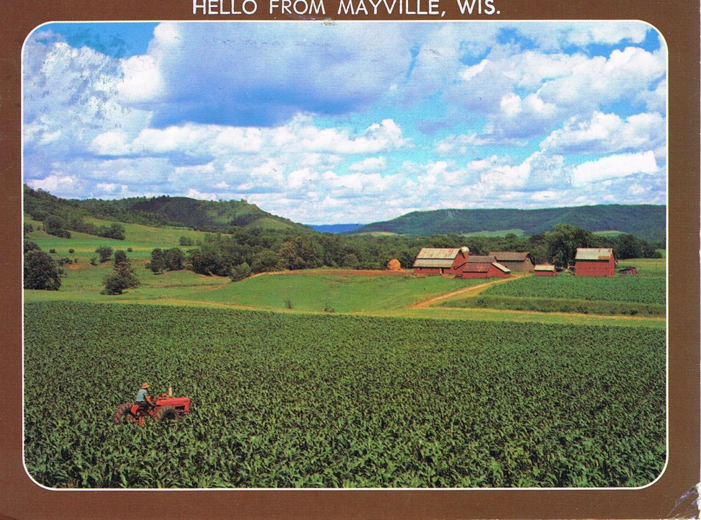 Mayville in Wisconsin, USA