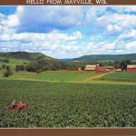 Mayville in Wisconsin, USA