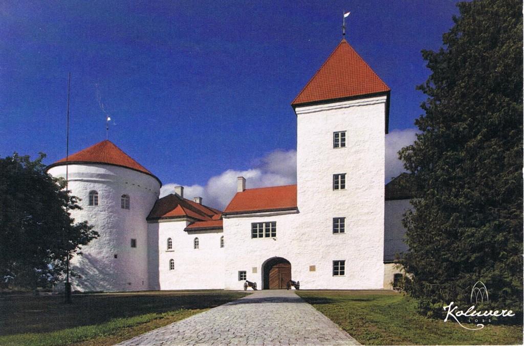 Schloss Lohde bei Koluvere in Estland
