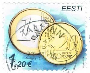1,20 € Porto aus Estland