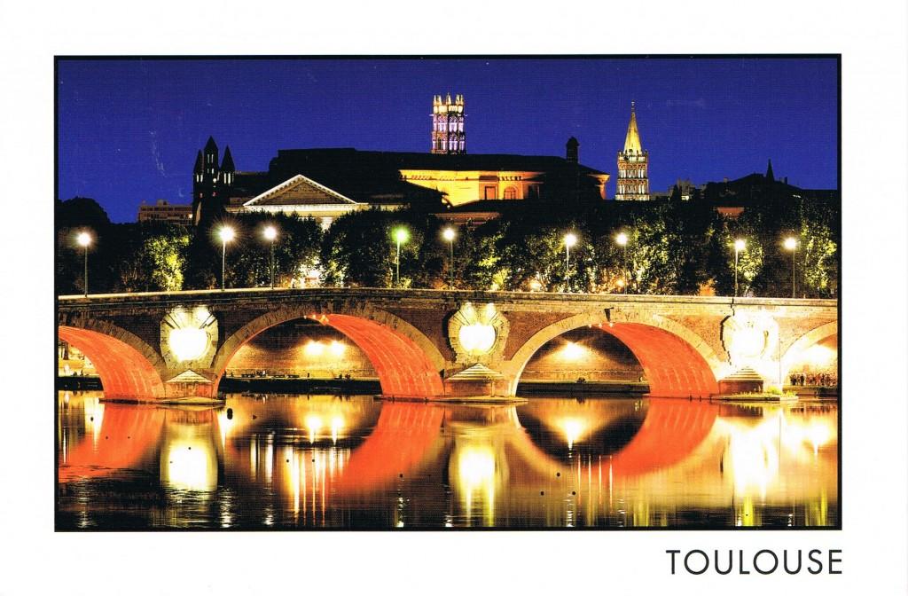 Die Pont Neuf bei Nacht