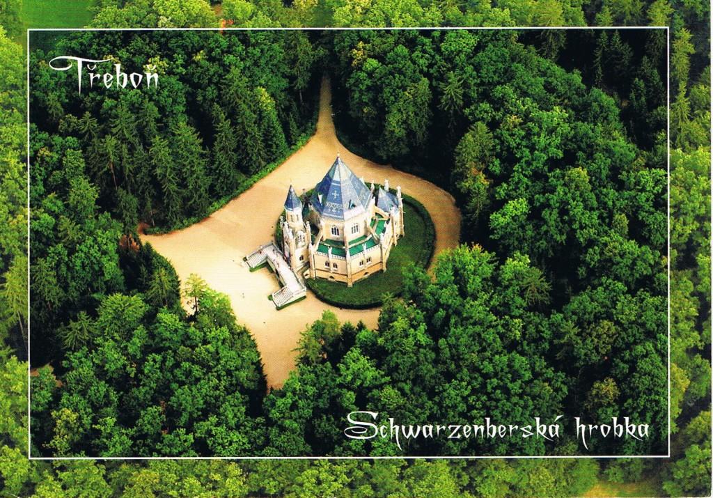 Schwarzenberg Mausloeum von oben
