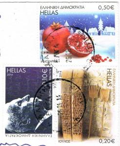 Briefmarken aus Griechenland