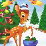 Bambi wünscht Frohe Weihnachten