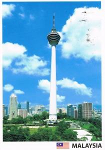 Menara Kuala Lumpur in Kuala Lumpur, Malaysia