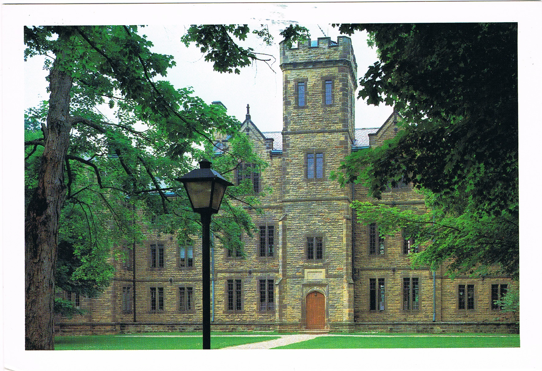 Ascension Hall am Kenyon College in Gambier, Ohio