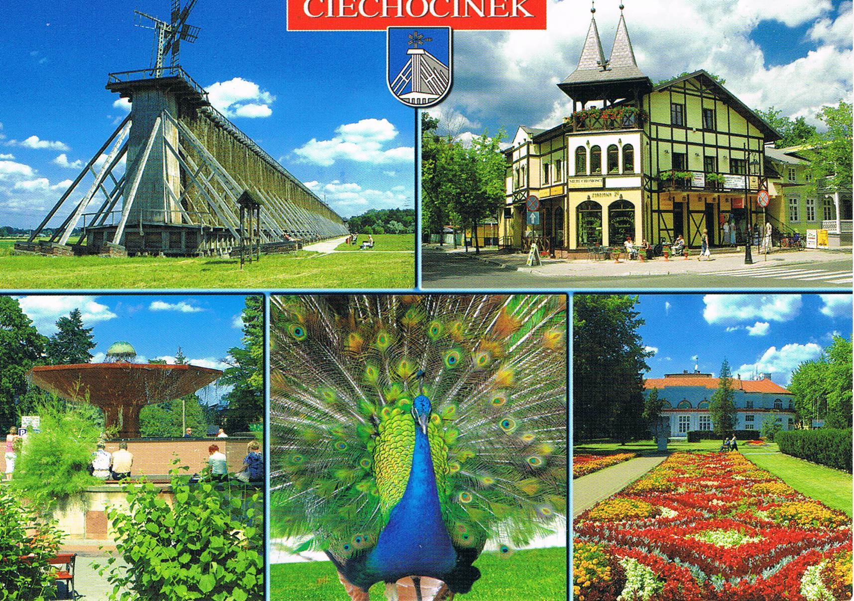 Multi View Karte aus Ciechocinek in Polen
