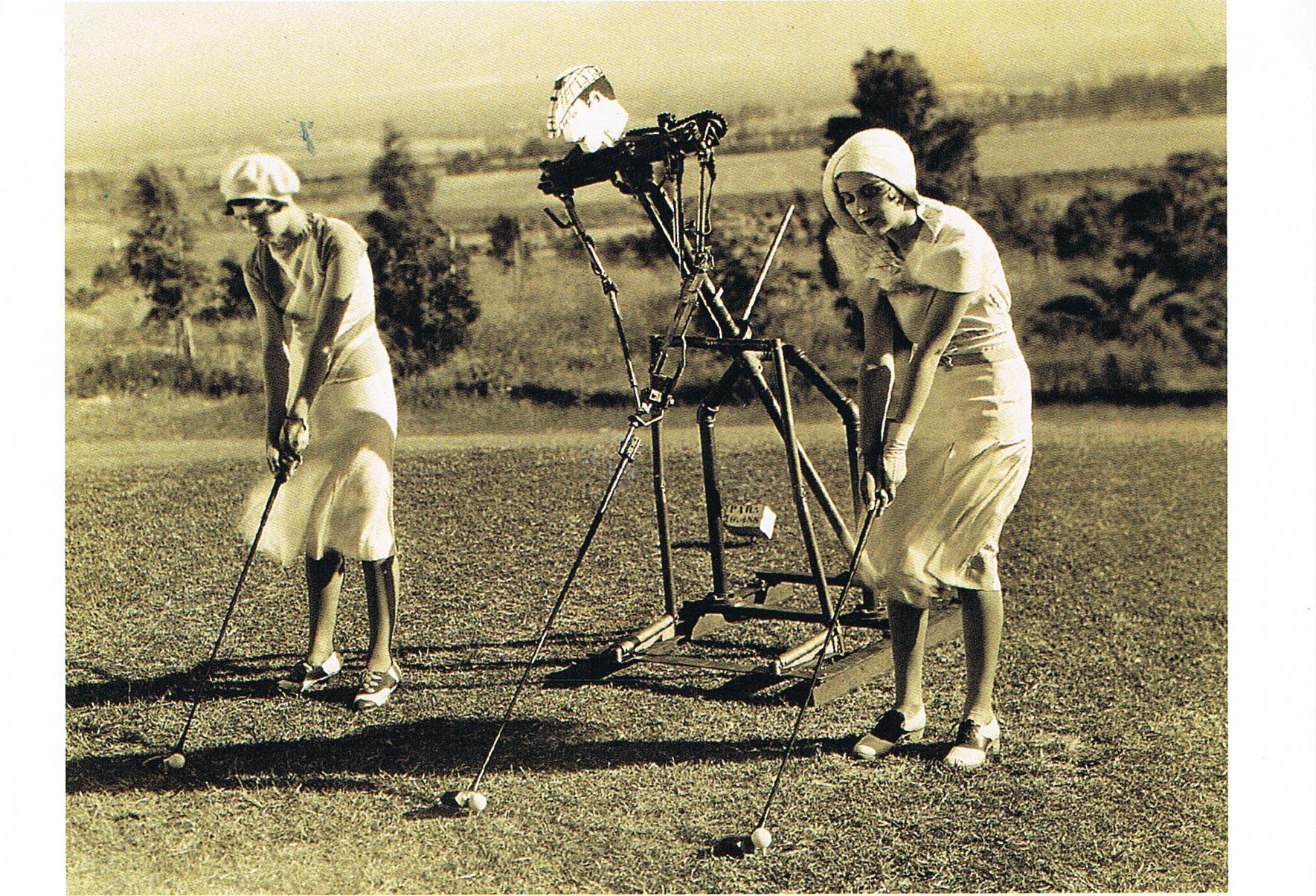 3 Golfer aus Detmold