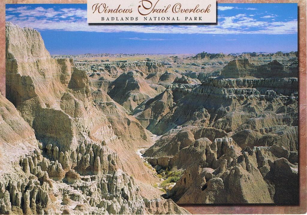 Badlands National Park in South Dakota (USA)