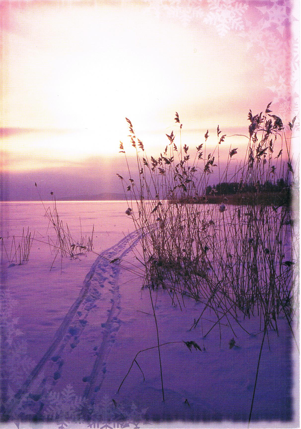 Eis und Schnee aus Finnland