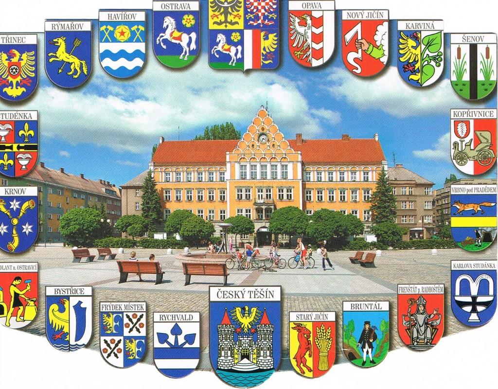 Das Rathaus von Český Těšín