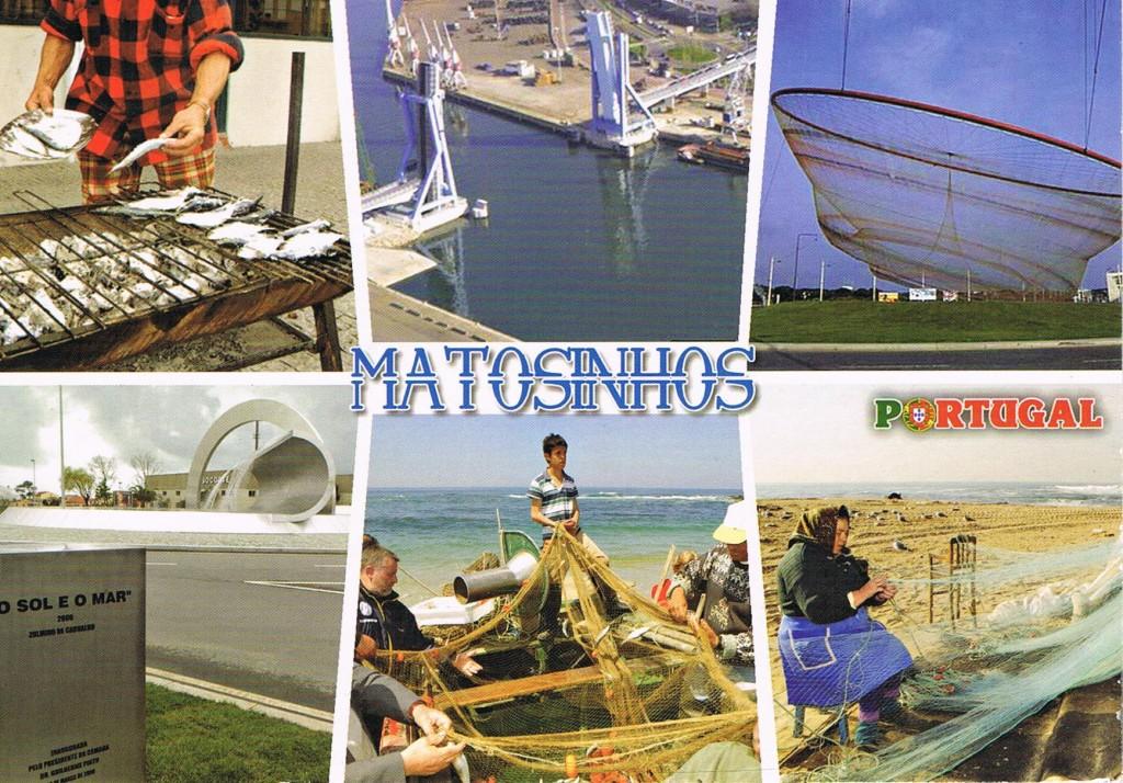 Eine Karte aus Matosinhos