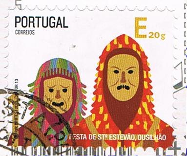 Briefmarke aus Portugal