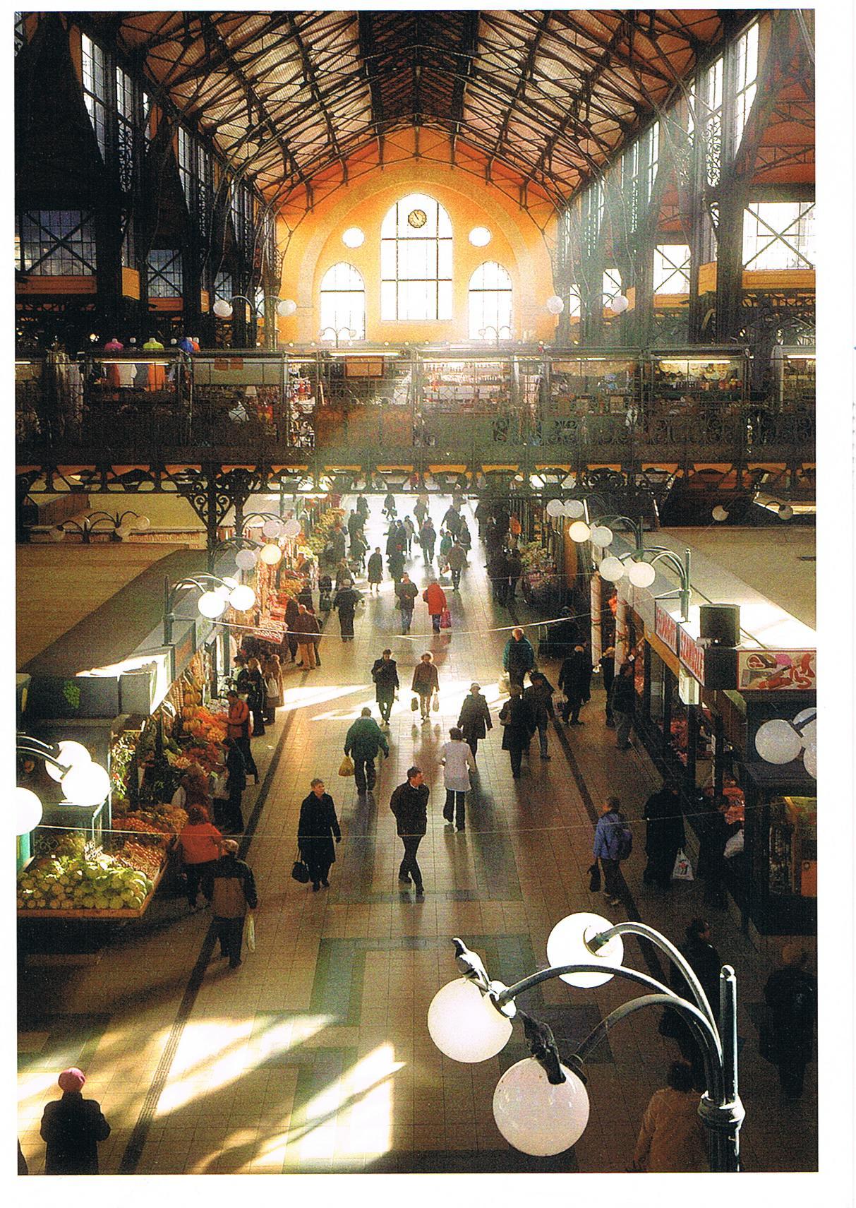 Große Markthalle in Budapest
