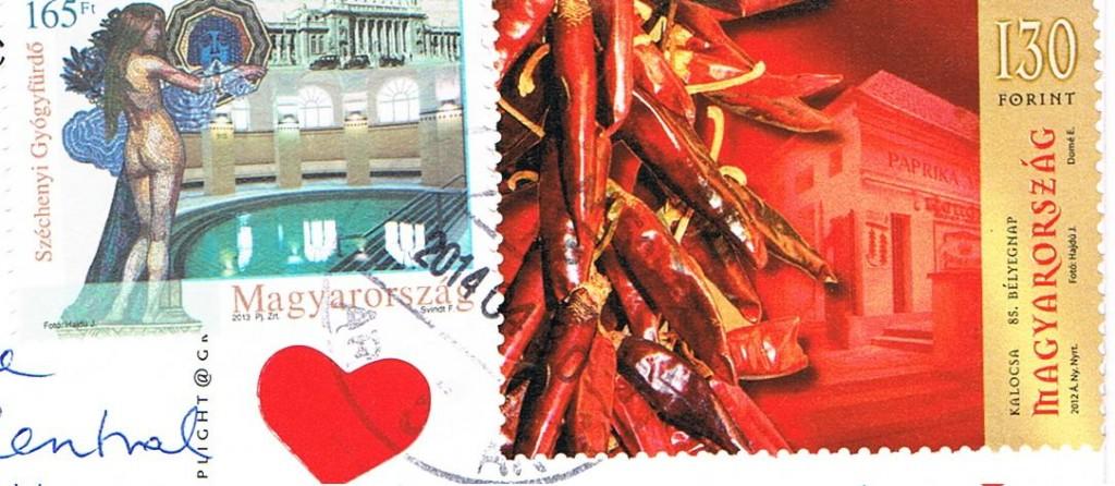Briefmarken aus Ungarn